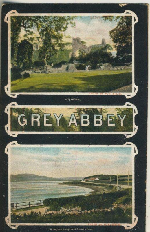 Grey Abbey v. 1906  2 Ansichten  (50961)