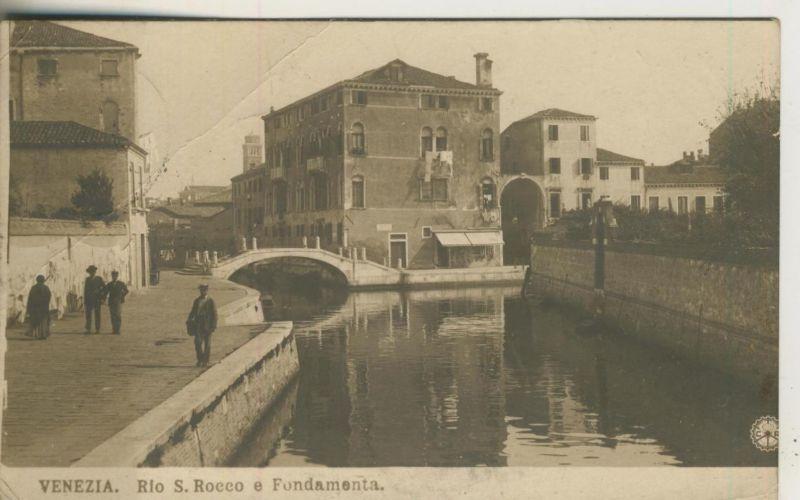 Venezia v. 1913  Rio S. Rocco e Fundamenta  (50965)