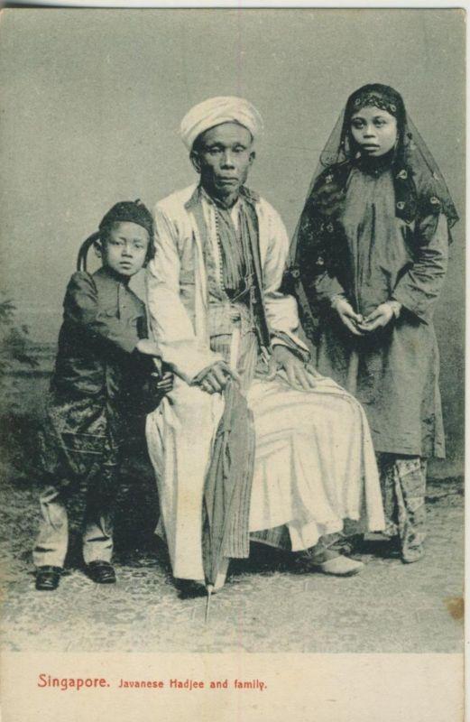 Singapore v. 1912  Javanese Hadjee and famliy  (50967)