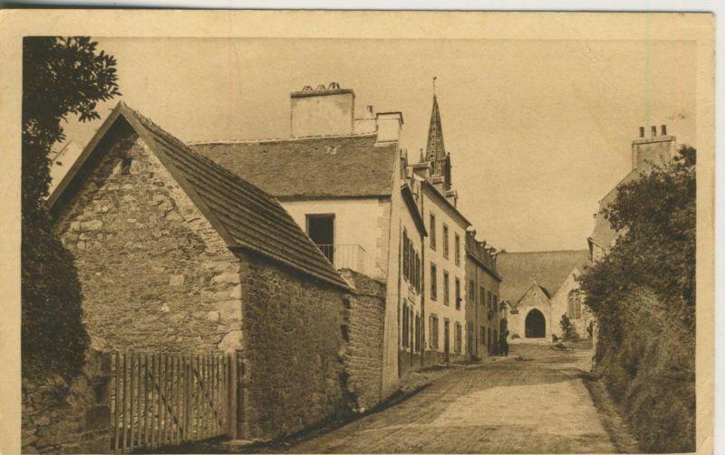 Ploujean v. 1936  Entreedu Bourg  (50973)