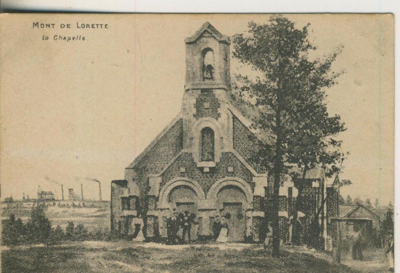 Mont de Lorette v. 1917  La Chaelle und Stadt  (50974)