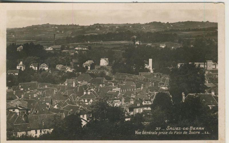 Salies-de-Béarn v. 1936 Vue Generale prise du Pain de Sucre  (50977)