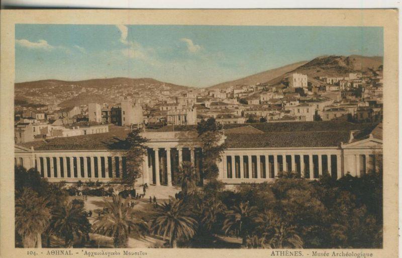 Athenes v. 1929  Musee Archeologique   (50980)