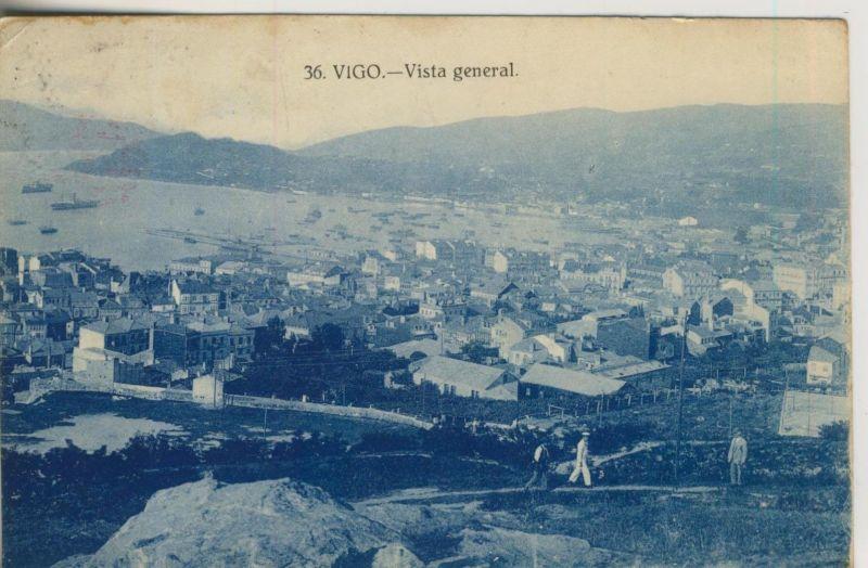 Vigo v. 1930  Vista general  (50983)