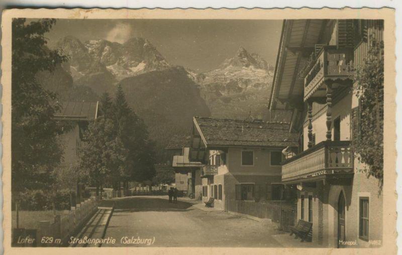 Lofer v. 1942  Straßenpartie  (50984)