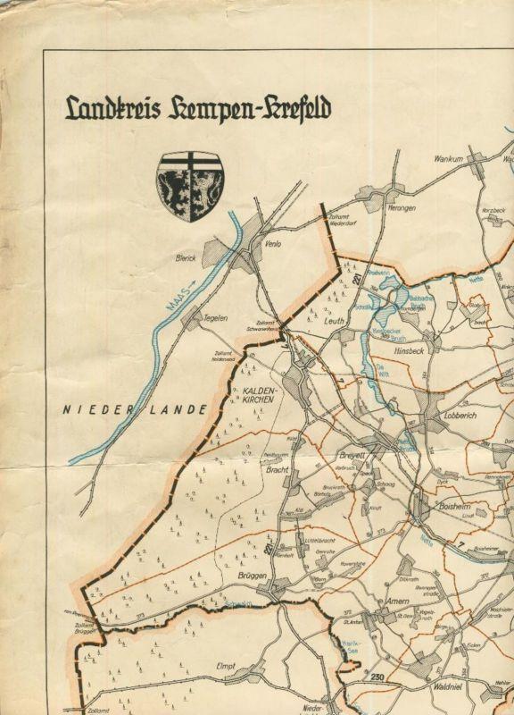 Landkreis Kempen-Krefeld v. 1940  (51446)