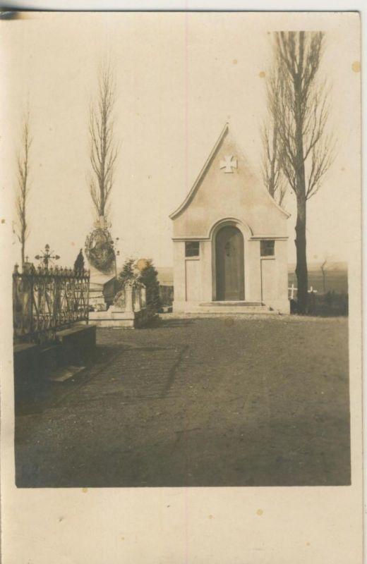 1. Weltkrieg v. 1916  Heldenfriedhof in Frankreich   (51625)