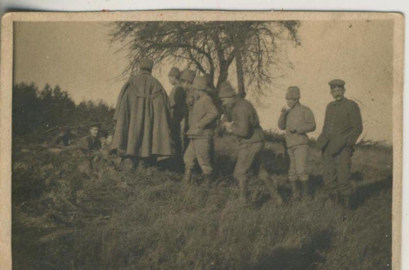 1. Weltkrieg v. 1917  siehe Rückseite - - die Beschreibung !!  (51699-6)