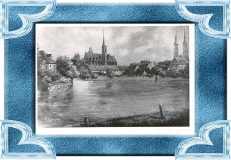 Breslau.v 1937 Ölgemälde v. Karopka.(12902)