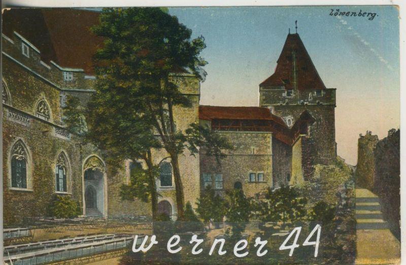 Löwenburg v.1927   Die Gröditzburg (12604)