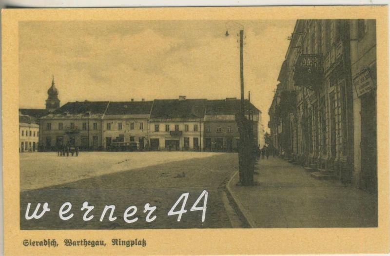 Sieradsch v.1925  Der Ringplatz (12795)