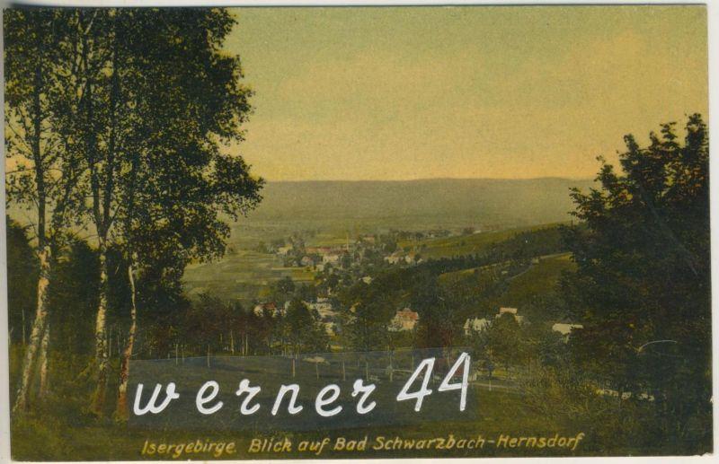 Bad Schwarzburg-Hernsdorf v.1907 Stadtansicht (12797)