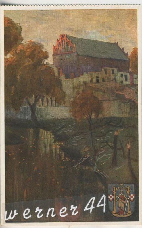 Soldau v.1915 Ordensburg mit