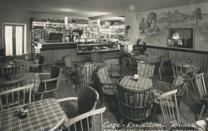 Drobollach-Faakersee v. 1939  Cafe-Konditorei