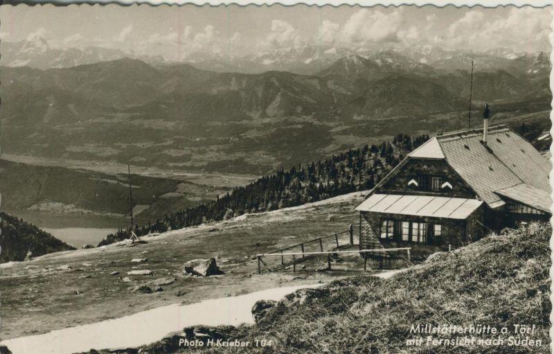 Millstätter Alpe v. 1964  Millstätter Hütte   (52777)