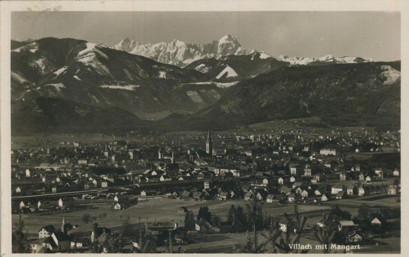 Villach v. 1939  Teil-Stadt-Ansicht  (53136)