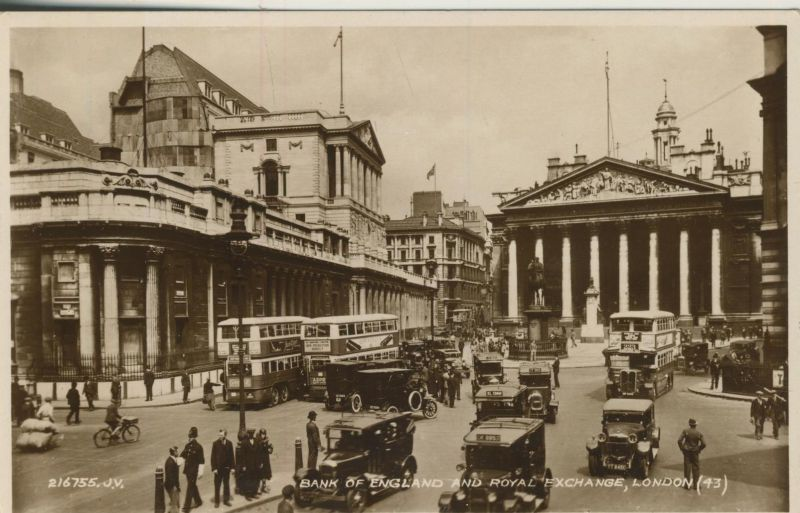 London v. 1936  Bank of England and Royal Exchange  (53187)