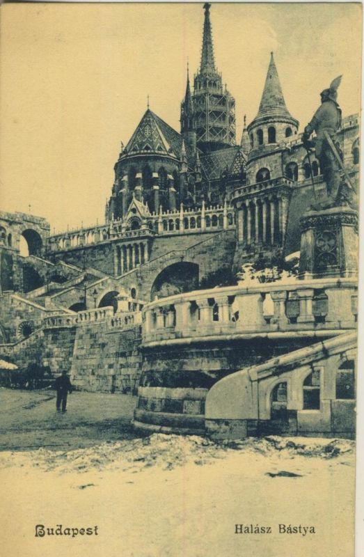 Budapest v. 1908  Halasz Bastya  (53213)