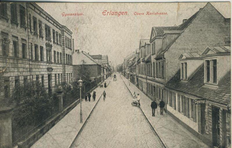 Erlangen v. 1921  Obere Karlstrasse  (53263)