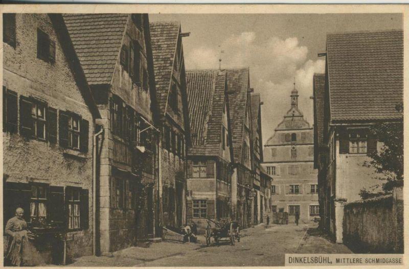 Dinkelsbühl v. 1919  Mittlere Schmidgasse (53264)