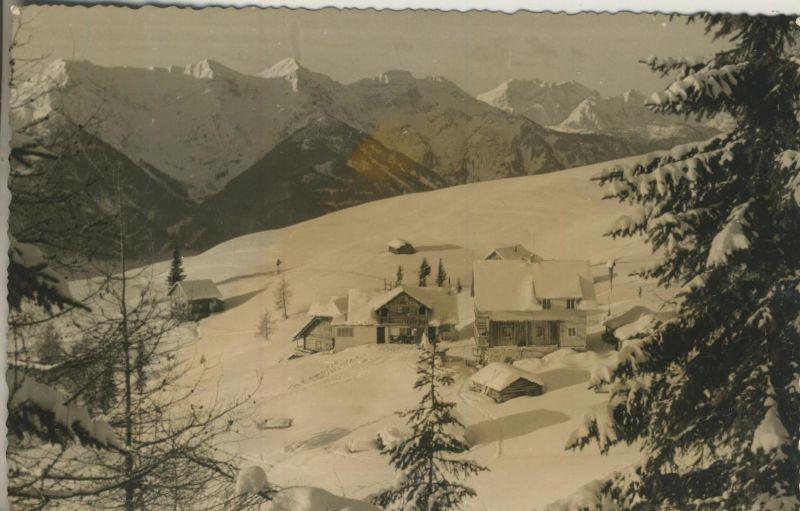 Greifenburg v. 1964  Alpenpension Schiheim-Schilift