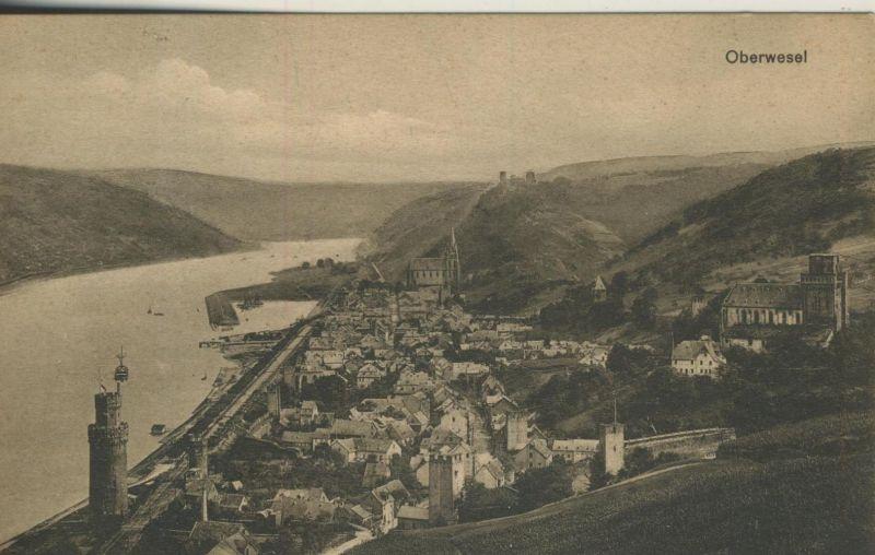 Oberwesel v. 1906  Stadt-Ansicht  (53416)