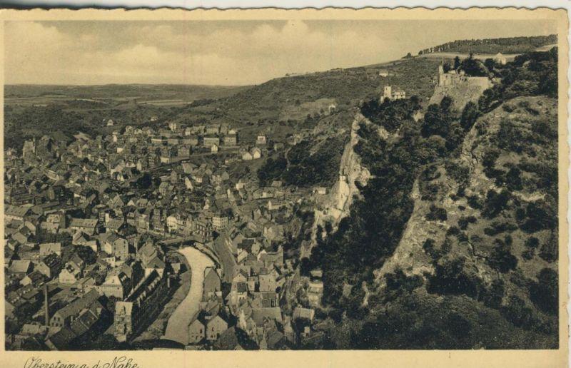 Oberstein a. d. Nahe v. 1933  Teil-Dorf-Ansicht  (53428)