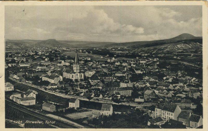 Ahrweiler v. 1936  Teil-Stadt-Ansicht  (53434)