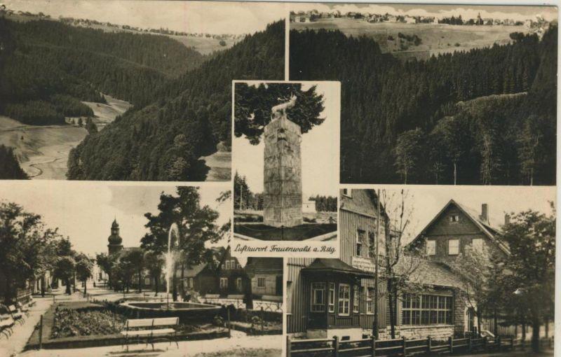 Frauenwald v. 1959  5 Ansichten  (53483)