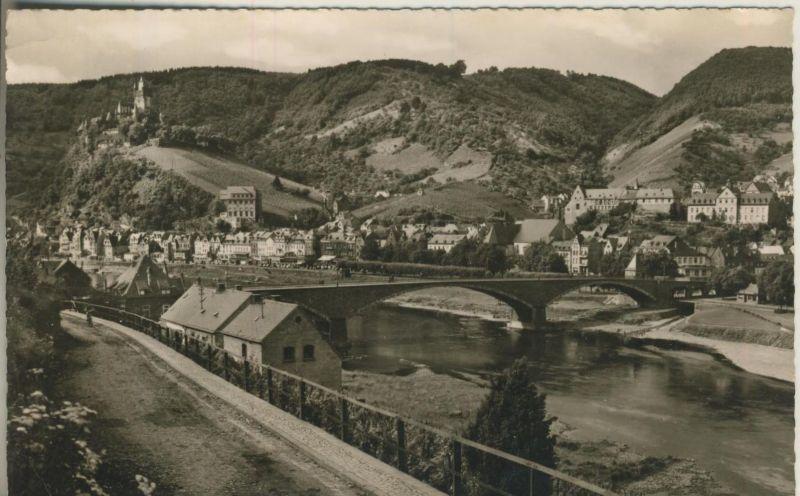 Cochem v. 1957  Teil-Stadt-Ansicht  (53487)