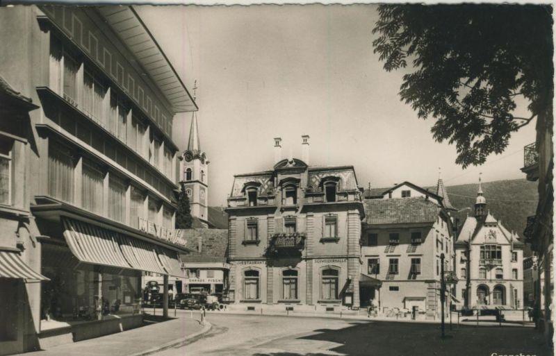 Grenchen v. 1963  Garade Fischer,Restaurant
