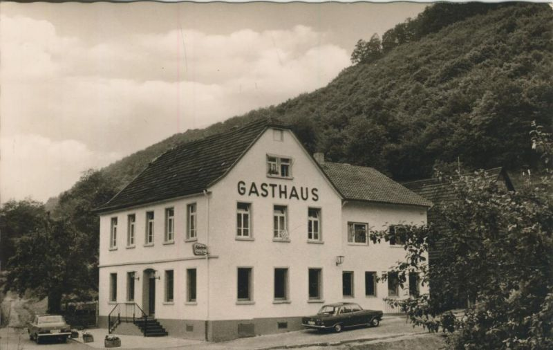 Eberbach am Neckar v. 1962  Gasthaus & Pension