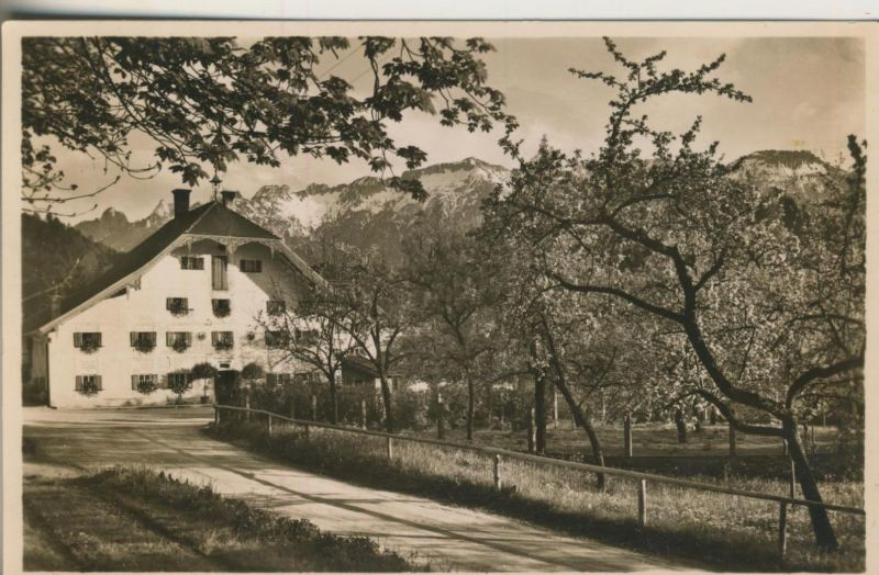 Weißbach v. 1959  Gasthaus und Oekonomie Obermühle  (53492)