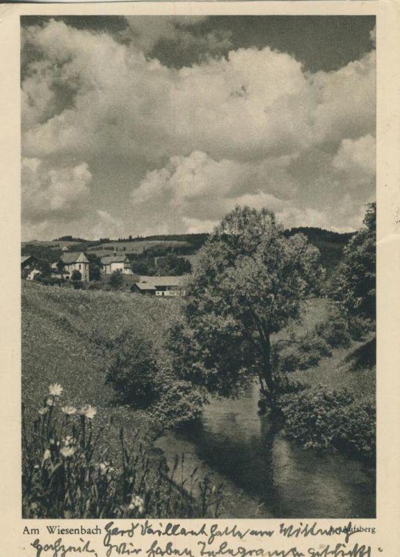 Wuppertal v. 1954  Am Wiesenbach  (53493)