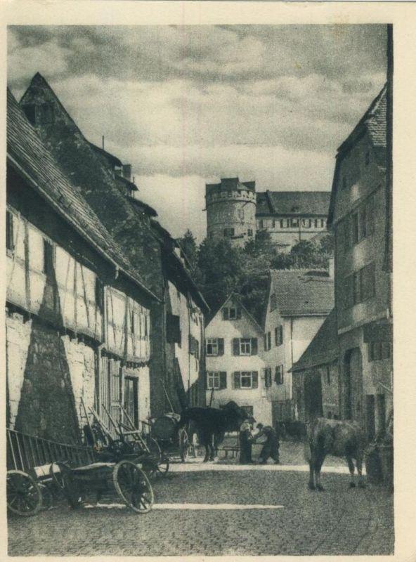 Tübingen v. 1952  Altstadt - Saltstadelgasse  (53494)