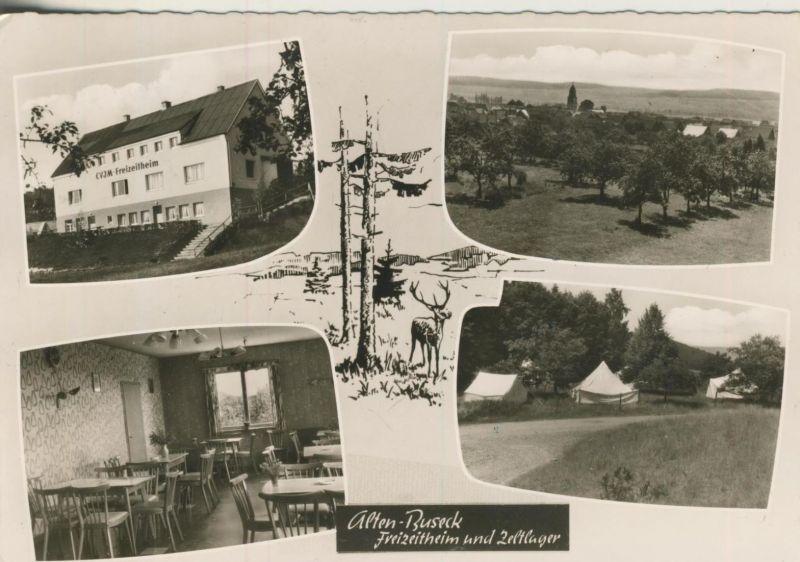 Alten Buseck v. 1961  Freizeitheim und Zeltlager  (53499)