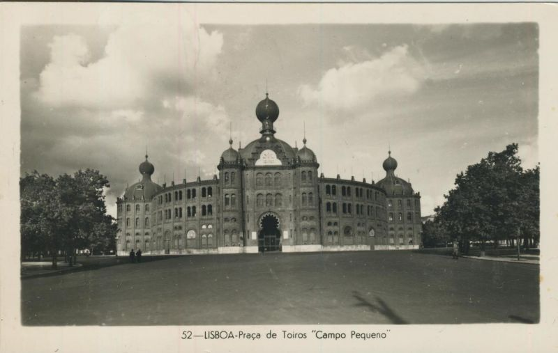 Lisboa v. 1958  Praca de Toiros