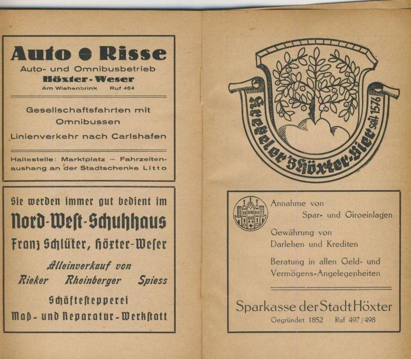 Führer durch Höxter und Corvey von 1948 -- siehe Foto !! (53981-087 ...
