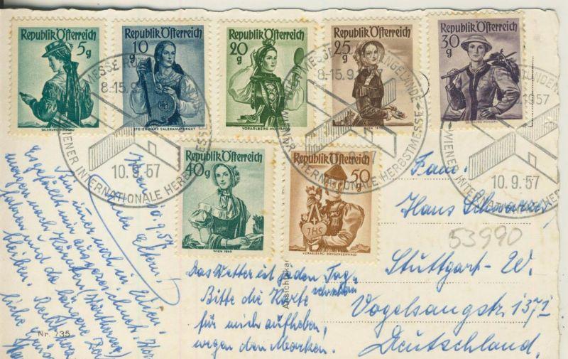 Wien v. 1957  7 Ansichten  (53990)