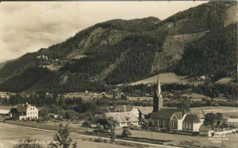 Frojach a.d. Mur v. 1956  Dorfansicht  (53994)