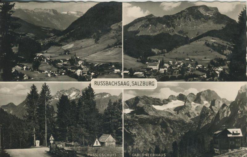 Russbachsaag v. 1960  4 Dorfansicht (53999)