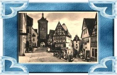 Rothenburg.v.1930 Plönlein (8217)
