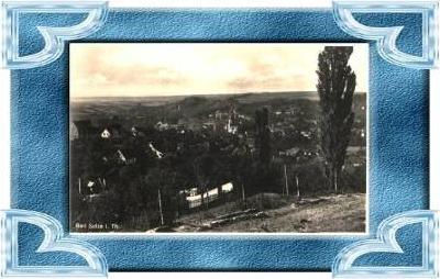 Bad Sulza v.1938 Teil-Stadt-Ansicht (8228)