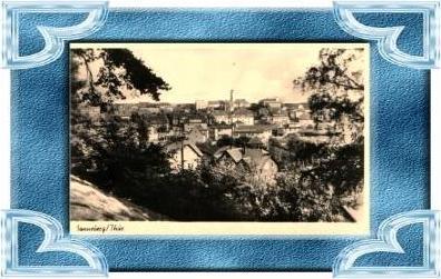 Sonneberg v.1953 Teil-Stadt-Ansicht (8263)
