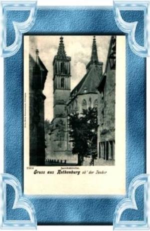 G. a. Rothenburg v.1906 Jacobskirche (8286)