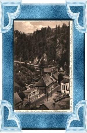 Rübeland v.1941 Teil-Dorf-Ansicht (8289)