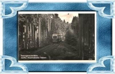 Friedrichroda v.1956 Thür.-Waldbahn 8413)
