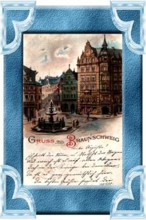 G. a. Braunschweig v.1899 Kohlmarkt (8636)