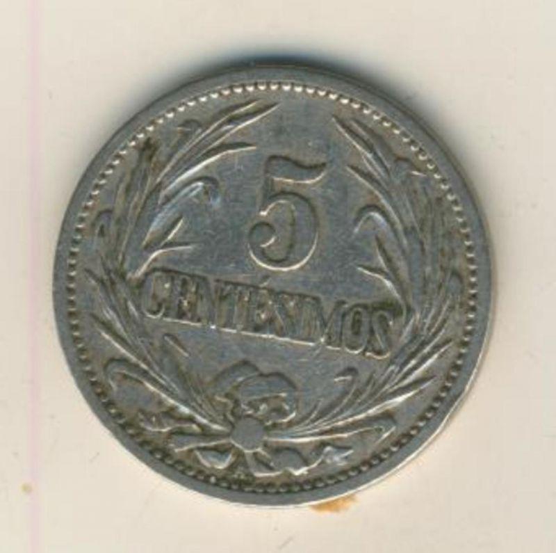 Südamerika v. 1901  5 Centesimos  (54023)