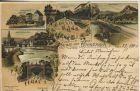 Gruss aus Bad Kreuznach v. 1900  5 Ansichten  (54144)